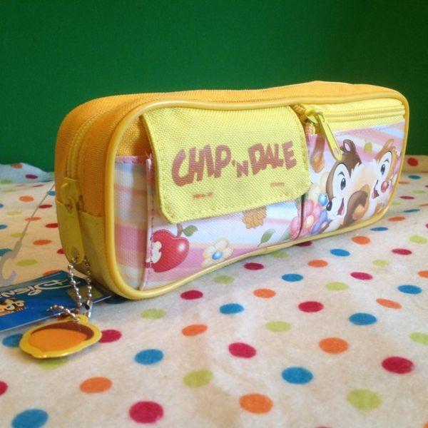 【發現。好貨】台灣迪士尼授權 松鼠多功能筆袋 奇奇蒂蒂筆袋 鉛筆盒化妝包收納包