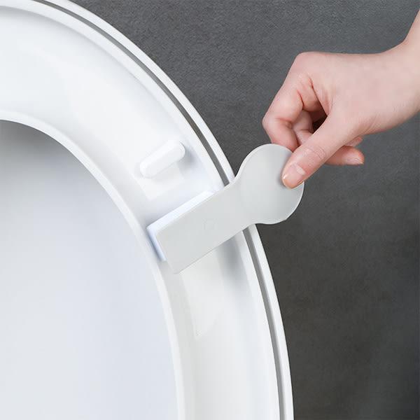 【BlueCat】黑灰白北歐葉子仙人掌馬桶蓋輔助掀蓋小把手