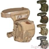 腿包高品質軍迷戰術多功能腰包腿包戶外迷彩防水耐磨升級二代戰術腿包 交換禮物
