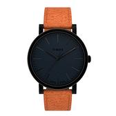 TIMEX 復刻系列絕佳工藝時尚腕錶-黑橘