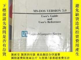 二手書博民逛書店罕見MS DOS VERSION 5.0 見圖描述Y171567