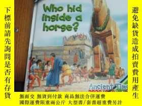 二手書博民逛書店ASK罕見ME :WHO HID INSIDE A HORSE?(英文原版:十万个为什么)Y25524