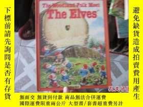 二手書博民逛書店外文罕見the woodland folk meet the e