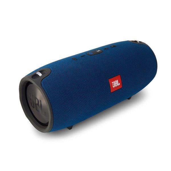 【台中平價鋪】 全新 JBL  XTREME 防潑水藍牙喇叭 重低音強化(藍色) 藍牙立體聲揚聲器 英大公司貨