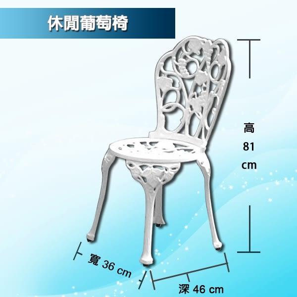 【 C . L 居家生活館 】Y832-1+Y832-2 休閒葡萄圓桌椅組(1桌2椅)