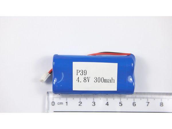 全館免運費【電池天地】 P39 無線電話電池4.8V 300mah (尺寸:2/3AA*4)