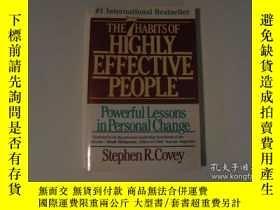 二手書博民逛書店The罕見7 Habits Of Highly Effective People - Powerful Lesso