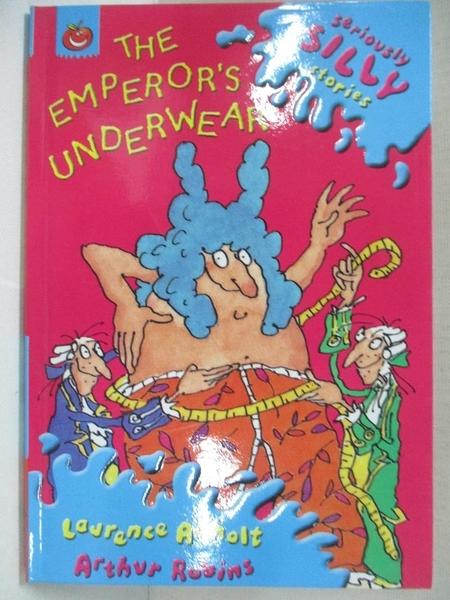 【書寶二手書T1/原文小說_CV3】The emperor s underwear_羅倫斯.安霍特