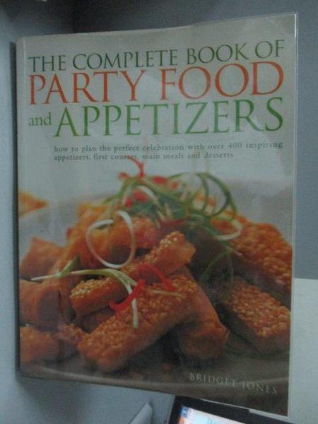 【書寶二手書T4/餐飲_ZGX】The Complete Book of Party Food and Appetize