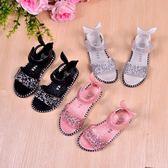 女童涼鞋夏季2018新款韓版女童鞋夏女孩兒童公主鞋小孩寶寶大童-Ifashion