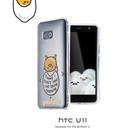 ◇SIMPLE WEAR HTC U11 U-3u 蛋黃哥TPU保護套 保護殼 軟殼 防摔殼 氣墊空壓殼 手機殼 背蓋 後蓋 神腦貨
