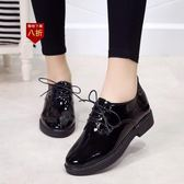 小皮鞋娃娃鞋黑色ins小皮鞋女新款學生韓版原宿百搭英倫復古單鞋  凱斯盾數位3C