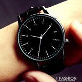 女士手錶時尚潮流防水石英女錶皮帶學生韓版簡約大氣男錶情侶手錶 Ifashion