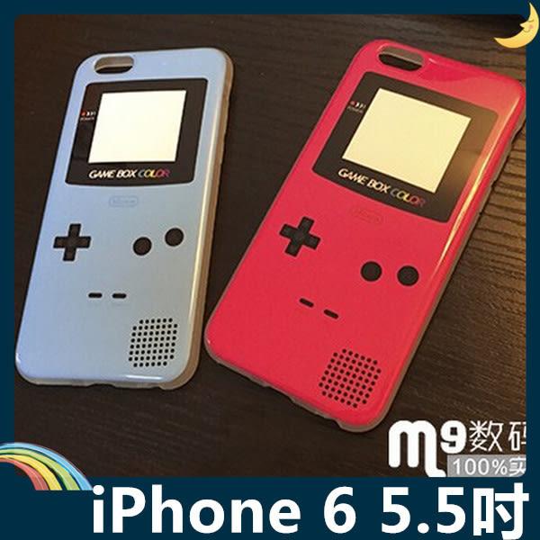 iPhone 6/6s Plus 5.5吋 掌上機保護套 軟殼 GB復古經典電玩 糖果色亮面 全包款 矽膠套 手機套 手機殼