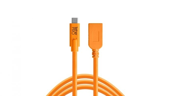 ◎相機專家◎ Tether Tools CUCA415-ORG 延長線 USB-C 轉 USB3.0-A 4.6 公司貨