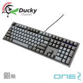 Ducky 創傑 Skyline天際線 ONE 2 PBT 銀軸 中文 機械式鍵盤