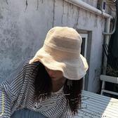 毛帽/針織帽韓版小清新純色大檐帽