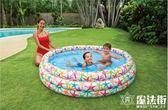 彩色斑點水池家庭水池 嬰兒游泳池沙池 充氣水池 魔法街