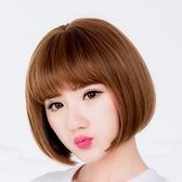 假髮(整頂.短髮)-俏皮可愛甜美鮑伯頭女假髮2色73ej26【時尚巴黎】
