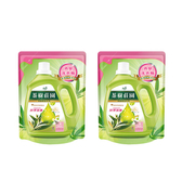 (組)茶樹莊園-茶樹天然濃縮消臭洗衣精補充包2入