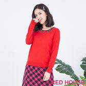 RED HOUSE-蕾赫斯-蝴蝶結針織衫(共2色)