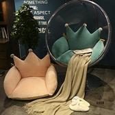 皇冠坐墊單人吊椅坐墊圓形藤椅地上墊子搖籃靠墊拆洗【愛物及屋】