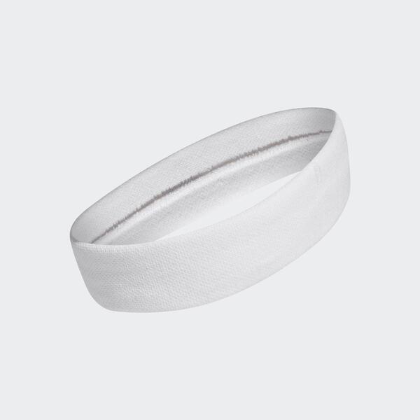 Adidas Tennis Headband [CF6925] 頭帶 運動 網球 訓練 健身 延展性 吸汗 舒適 白