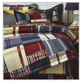 【免運】精梳棉 雙人 薄床包舖棉兩用被套組 台灣精製 ~蘇格蘭風情~ i-Fine艾芳生活
