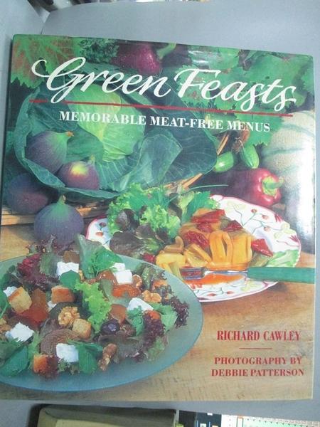 【書寶二手書T3/餐飲_EQ9】Green feasts : memorable meat-free menus_Ric
