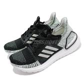 【六折特賣】adidas 慢跑鞋 UltraBOOST 19 W 黑 綠 白底 女鞋 運動鞋 【ACS】 G27484