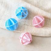 ✭慢思行✭【L081-2】去污魔力洗衣球(2入) 內衣 大號 柔軟 洗護球 防纏繞 打結 洗衣機 清潔