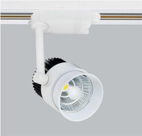 【燈王的店】LED COB 26W 軌道燈 投射燈 白框 暖白光4000K  ☆ TYL714