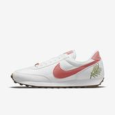 Nike Wmns Dbreak Se [DJ1299-100] 女鞋 運動 休閒 復古 經典 植物刺繡 帆布 白 粉