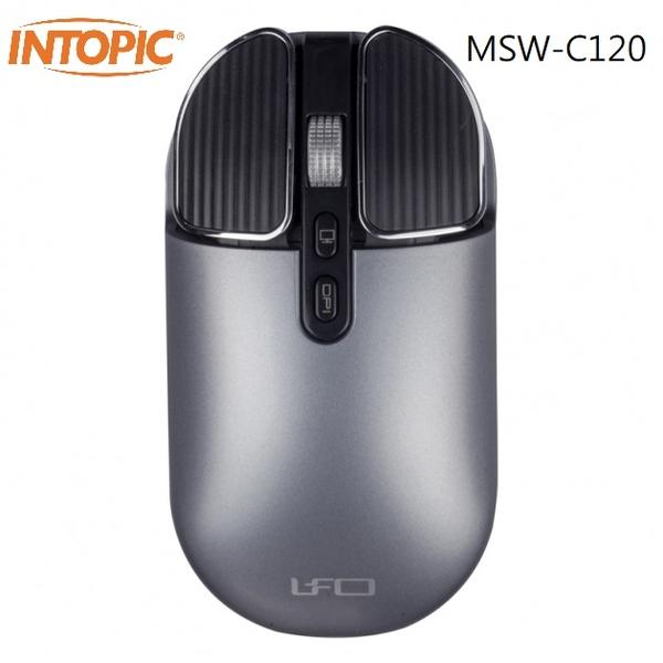 INTOPIC MSW-C120 無線靜音充電滑鼠 [富廉網]