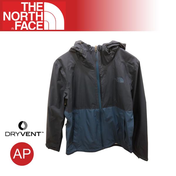 【The North Face 男 DryVent 防水外套《海軍藍/蔭藍》】3V9C/DryVent/運動版型山/健行/防潑水