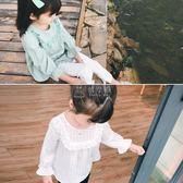 女童T恤 女童襯衫新款韓版百搭喇叭袖娃娃衫小女孩寶寶t恤 俏女孩