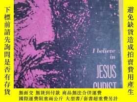 二手書博民逛書店英文原版:I罕見believe JESUS CHRSTY367822 by MarburyE.Anderson