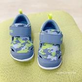 《7+1童鞋》小童 日本月星 MOONSTAR 透氣網布 機能鞋 運動鞋 學步鞋 E419 銀灰色