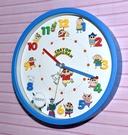 蠟筆小新 時鐘 掛鐘 靜音 日本正版商品