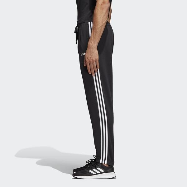 【母親節跨店折後$1580】adidas e 3s Pant FT 黑色 運動長褲 愛迪達 DQ3078