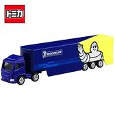 【日本正版】TOMICA NO.135 米其林 貨櫃車 玩具車 貨車 長盒 多美小汽車 - 798316