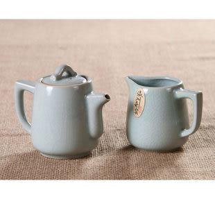 龍泉青瓷哥窯開片 茶具套裝