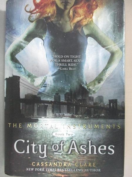 【書寶二手書T5/原文小說_JL8】City of Ashes_Clare, Cassandra