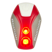 NATHAN 脈衝星LED防水炫光夾Pulsar Strobe 紅|三鐵|越野|LED燈|慢跑|路跑|夜跑 NA5077NFR