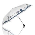 《真心良品》2146三折銀膠森林自動傘