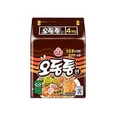 韓國不倒翁 特級海鮮風味烏龍拉麵(120gx4包)【小三美日】