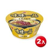 味味一品皇朝牛筋麵185g x2入【愛買】
