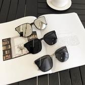 墨鏡 韓版網紅方形女時尚圓臉顯臉瘦街拍潮人太陽鏡男個性眼鏡 - 歐美韓熱銷
