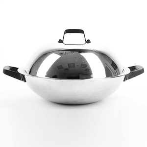 HOLA 316複合不鏽鋼炒鍋 36cm