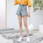 短褲女夏新款韓版寬鬆學生顯瘦a字褲百搭高腰牛仔褲熱褲艾美時尚衣櫥艾美時尚衣櫥